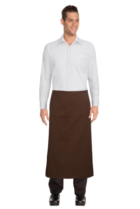 3/4 Chocolate Apron -DC