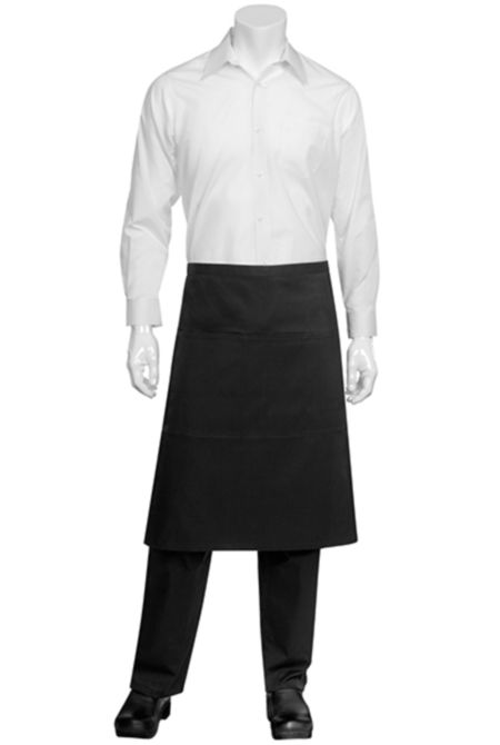 Reversible Bistro Apron  - Black